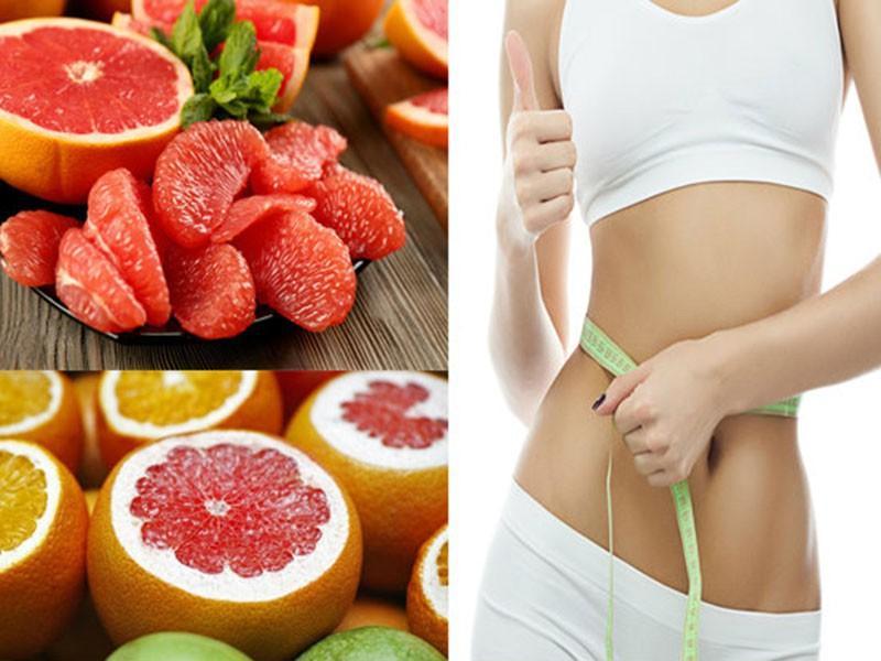 Ăn bưởi giúp giảm mỡ bụng hiệu quả