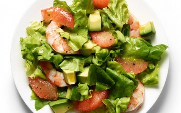 Salad bưởi cho buổi tối