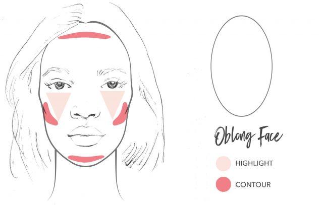 Tạo khối cho khuôn mặt dài được đầy đặn