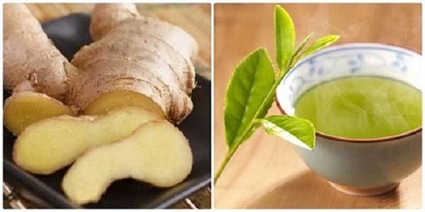 Gừng và trà xanh sẽ đẩy nhanh hiệu quả giảm cân cho bạn