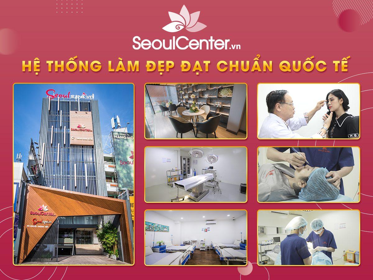 Nhấn mí uy tín tại bệnh viện thẩm mỹ Quốc tế SeoulCenter.vn (Ảnh: SeoulCenter.vn)