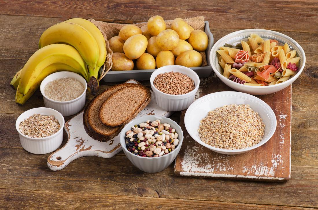 ác thực phẩm tinh bột và đường
