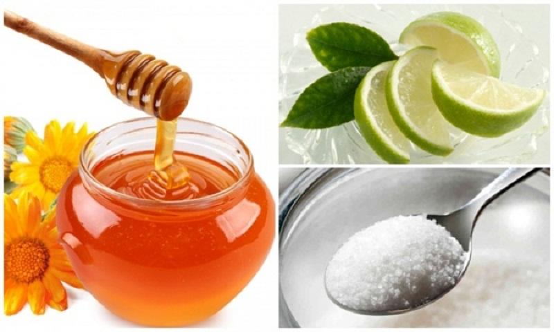 Mật ong và chanh, đường là công thức wax lông nách an toàn, hiệu quả nhất
