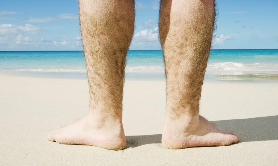 Lông chân mọc rậm rạp khiến bạn mất tự tin hơn trong cuộc sống