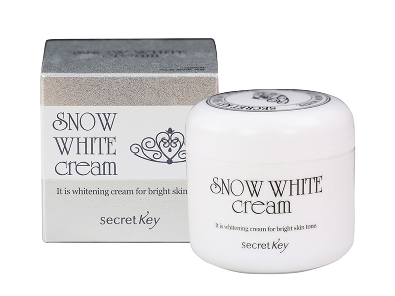 Snow White Cream nằm trong top 10 kem dưỡng trắng da mặt tốt nhất