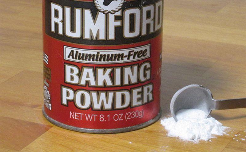 Bột baking powder chứa thành phần axit nhẹ