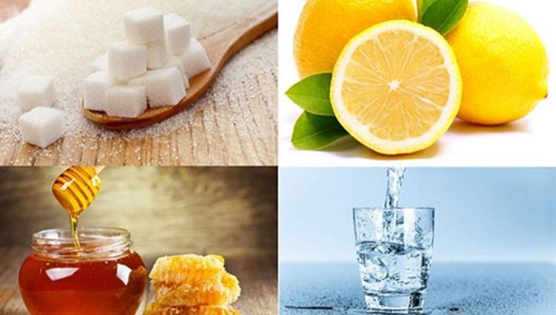 Công thức tẩy lông từ chanh đường và mật ong