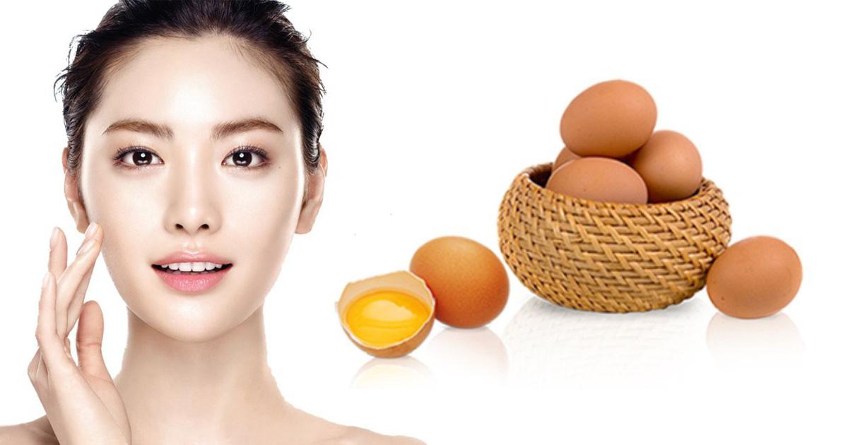 Mặt nạ dưỡng da từ lòng đỏ trứng gà kết hợp với mật ong