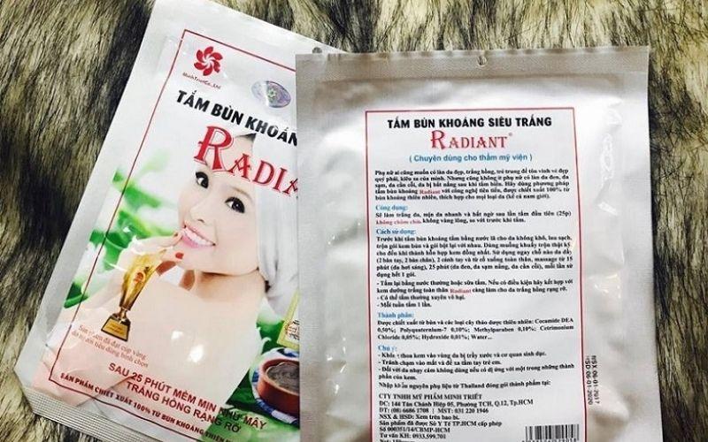 Những thành phần làm nên tính hiệu quả của kem tắm trắng Radiant