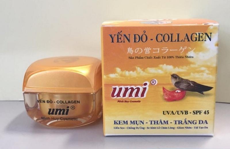 Kem Umi Yến Đỏ là sản phẩm được nhiều người quan tâm trong thời gian gần đây