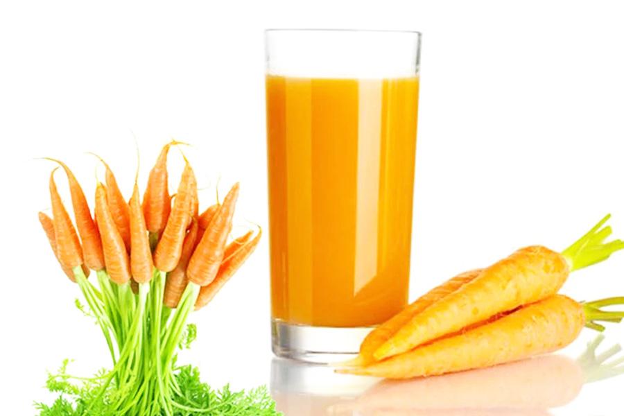 Những món ăn từ cà rốt tốt cho người xăm môi
