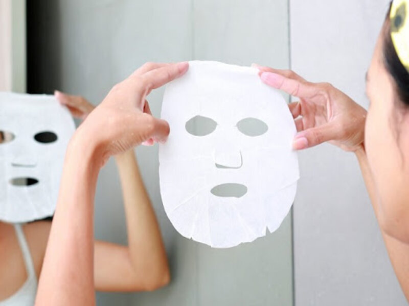 Mặt nạ giấy là loại mặt nạ phổ biến nhất hiện hiện nay