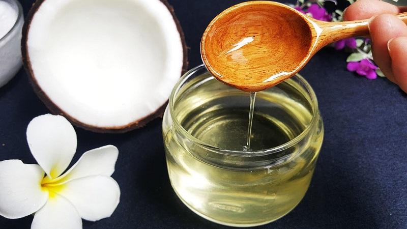 Triệt lông bằng dầu dừa