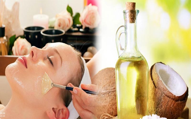 Chỉ nên đắp mặt nạ dầu dừa khoảng 15 phút để tránh gây bít tắc lỗ chân lông
