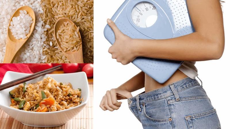 Tìm hiểu về những kinh nghiệm giảm cân từ nguyên liệu gạo lứt