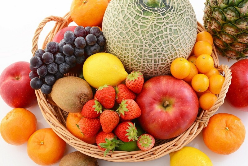 Bổ sung nhiều hoa quả tươi cho cơ thể