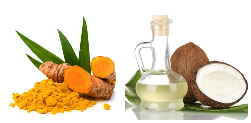 Dầu dừa giúp cân lại bằng lượng dầu trên da và cũng giúp trị mụn