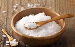 Muối giúp giảm mỡ hiệu quả
